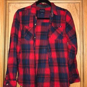 Men's Luck brand plaid shirt